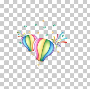 Balloon Cartoon Parachute PNG