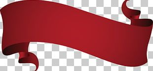 Wine Red Euclidean Ribbon PNG