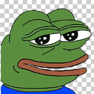 Pepe The Frog Twitch YouTube Emote Video Game PNG