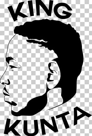 The Damn Tour Black And White King Kunta Logo PNG
