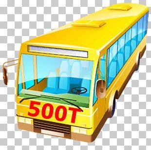 Bus Stop NextBus School Bus AEC Routemaster PNG
