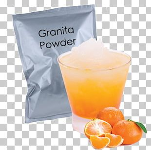 Mandarin Orange Tangerine Granita Juice Fruit PNG
