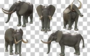 Spore Creatures African Bush Elephant Animal PNG