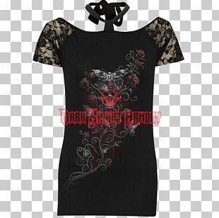 T-shirt Goth Subculture Clothing Gothic Rock World Goth Day PNG