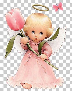 Cherub Angel Coloring Book PNG