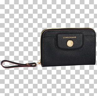 Longchamp Wallet Handbag Coin Purse Leather PNG
