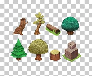 Tree Isometric Graphics In Video Games And Pixel Art Tile-based Video Game Sprite Forest PNG