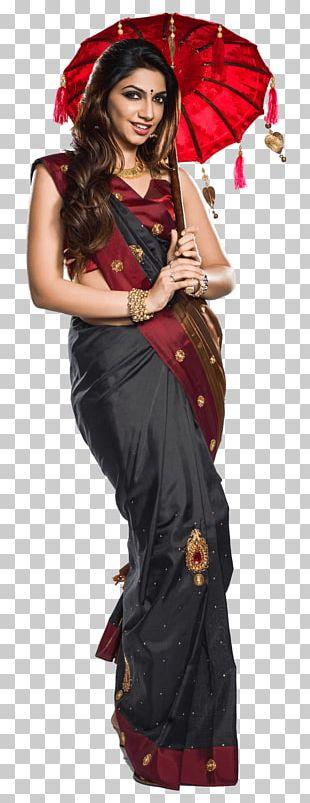 Viba Sari Clothing Fashion Dress PNG