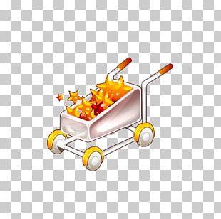 Cartoon Drawing Shopping Cart PNG