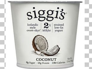 Milk Cream Siggi's Dairy Skyr Yoghurt PNG