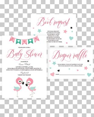Wedding Invitation Baby Shower Save The Date Party Flamingo PNG