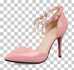 High-heeled Footwear Shoe Pink Fashion PNG
