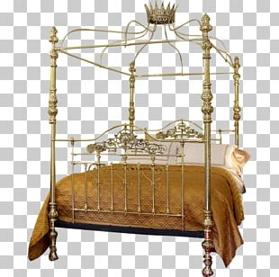 Bed Frame Four-poster Bed Furniture Canopy Bed PNG