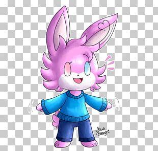Easter Bunny Cartoon Pink M Desktop PNG