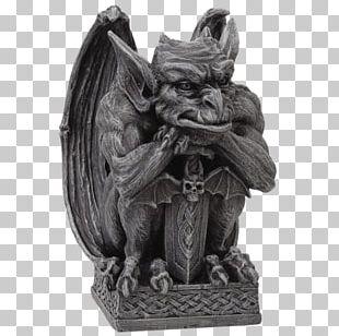 Gargoyle Figurine Statue Sculpture Gothic Architecture PNG