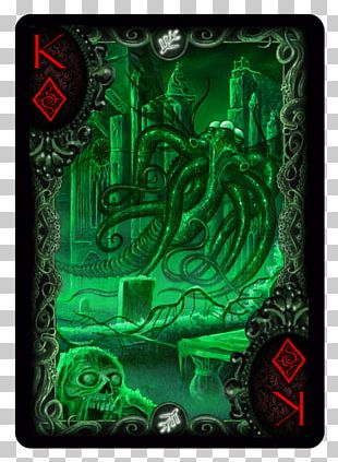Call Of Cthulhu Bicycle Playing Cards Card Game PNG