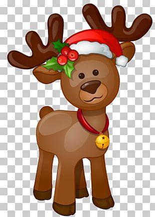 Rudolph Santa Claus Christmas PNG