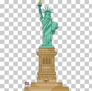 Statue Of Liberty Drawing Liberty State Park PNG