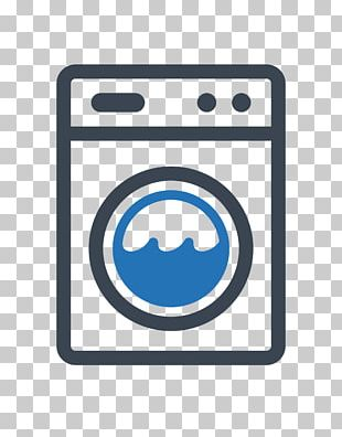 Washing Machine Laundry Cleaning Icon PNG