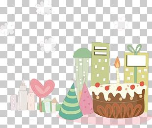Birthday Cake Party PNG
