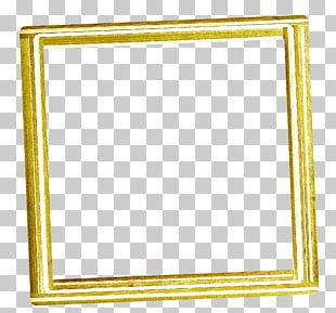 Frame Yellow PNG