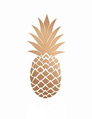 Pineapple Gold Desktop PNG