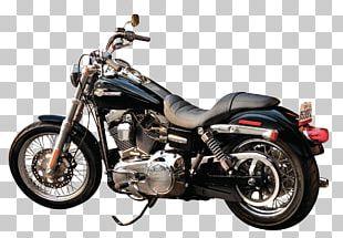 Harley-Davidson Super Glide Motorcycle PNG