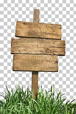 Sign Wood PNG