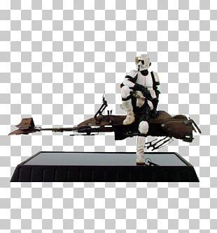 Stormtrooper Darth Maul Star Wars Speeder Bike Action & Toy Figures PNG