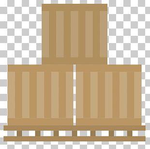 Logistics Intermodal Container PNG