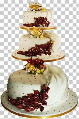 Wedding Cake Chocolate Cake Birthday Cake Frosting & Icing PNG