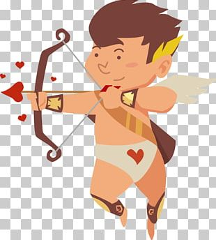 Cupids Bow Bow And Arrow Euclidean PNG
