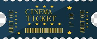 Ticket Cartoon Film Cinema PNG