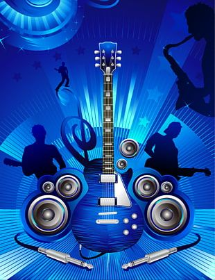 Background Music Concert Poster PNG