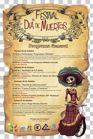 La Calavera Catrina Poster Death Text Day Of The Dead PNG