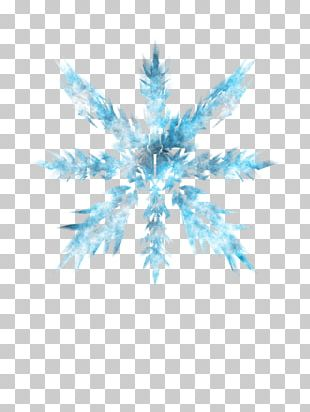 Ice Crystals Blue Ice PNG