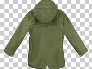 Hood Polar Fleece Bluza Jacket Green PNG
