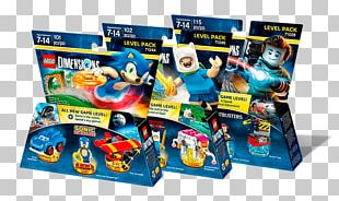 Lego Dimensions Sonic The Hedgehog The Lego Group Toy PNG