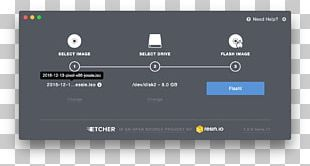 Etcher Linux Raspberry Pi 3 MacOS PNG