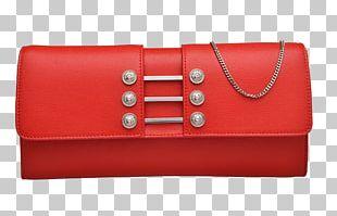 Red Versace Handbag Yves Saint Laurent PNG
