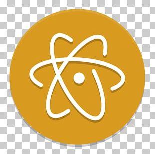 Atom Text Editor Source Code Editor GitHub Electron PNG