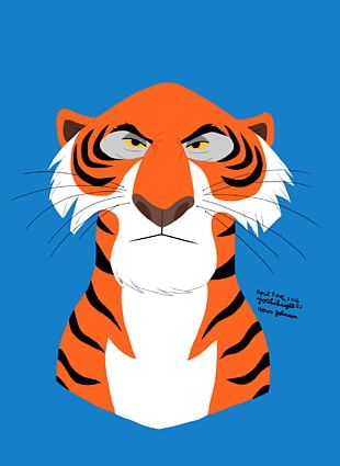 The Jungle Book Shere Khan Baloo Kaa Art PNG