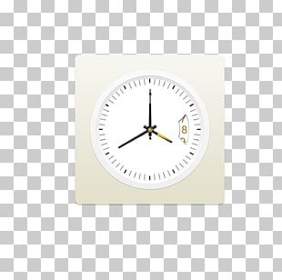 Alarm Clock Brand White PNG