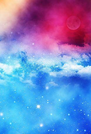 Night Sky Cloud PNG