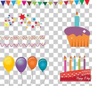 Birthday Cake Cupcake Wedding Invitation PNG
