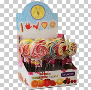 Lollipop Candy Christmas Wish List PNG