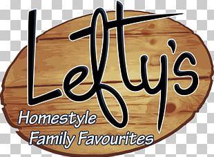 Lefty's Cafe Restaurant Food Menu PNG