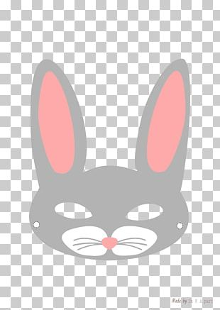 Domestic Rabbit Easter Bunny Netherland Dwarf Rabbit Mask PNG