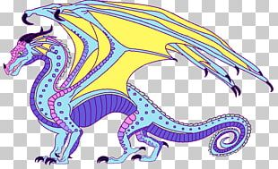 Wings Of Fire The Hidden Kingdom Parrot Dragon PNG