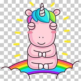 Sticker Telegram VKontakte Unicorn Viber PNG